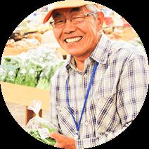 毎日新鮮野菜 1800人の農家さん直接契約
