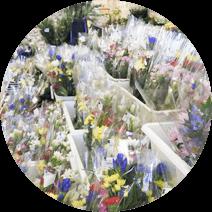 地域最大級の花売り場